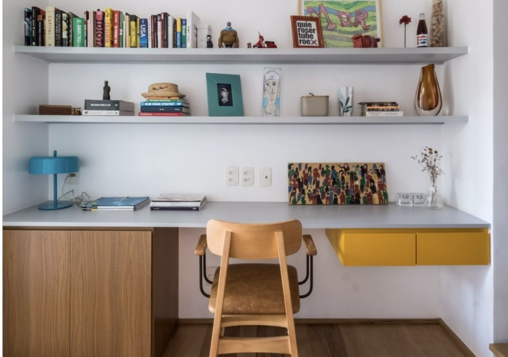 Imagem da notícia: - Home office pequeno mas funcional?
