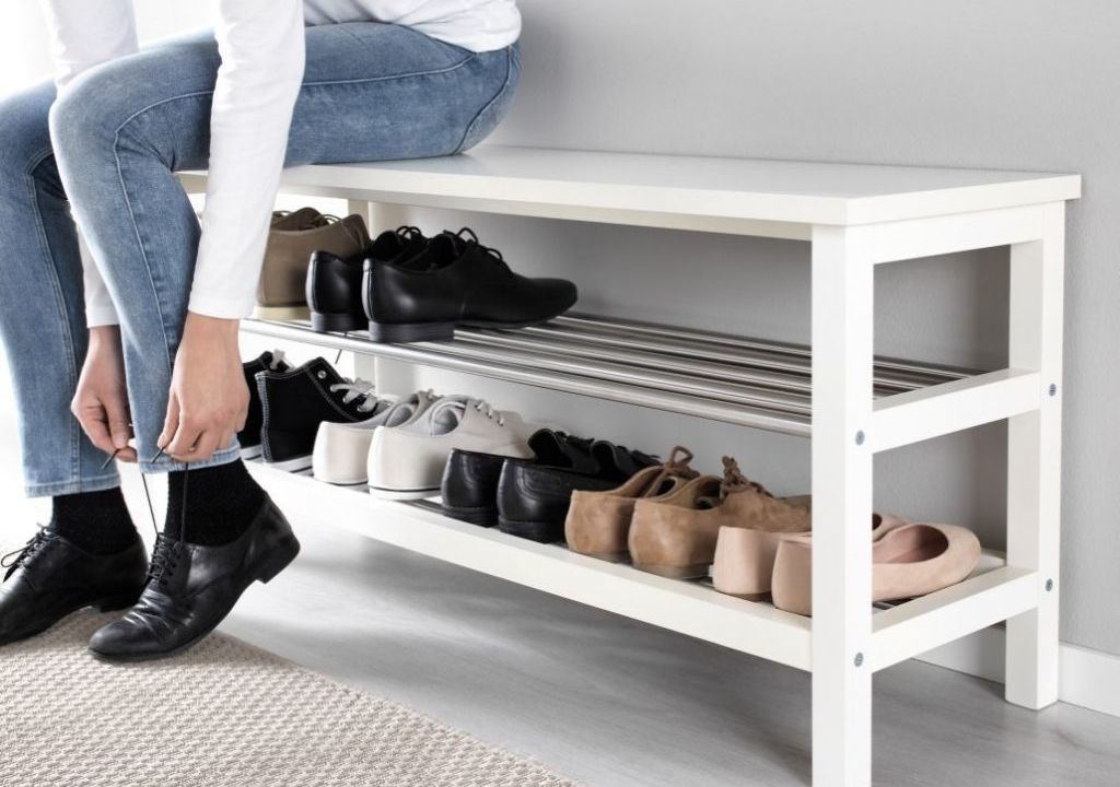 Imagem da notícia: - Como arrumar os sapatos à entrada de casa?