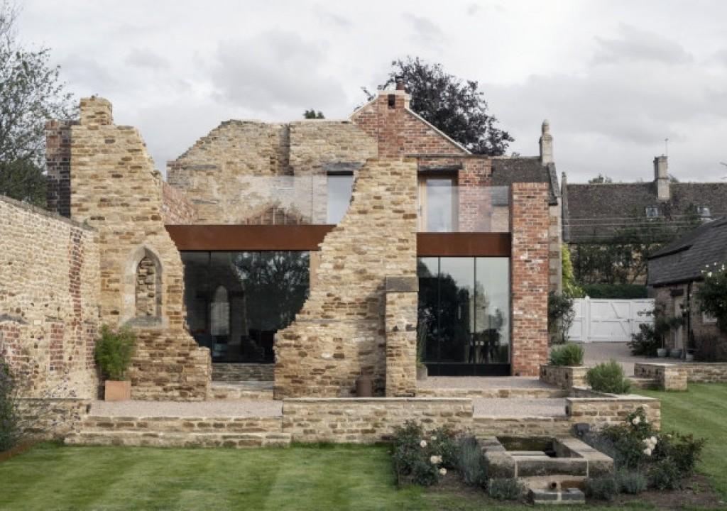 Imagem da notícia: - Uma casa de sonho saída das ruínas!
