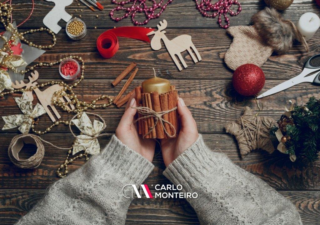 Imagem da notícia: - Enfeites de Natal fáceis de fazer com materiais que temos em casa