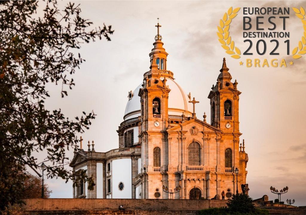 Imagem da notícia: - Braga is the best European destination 2021