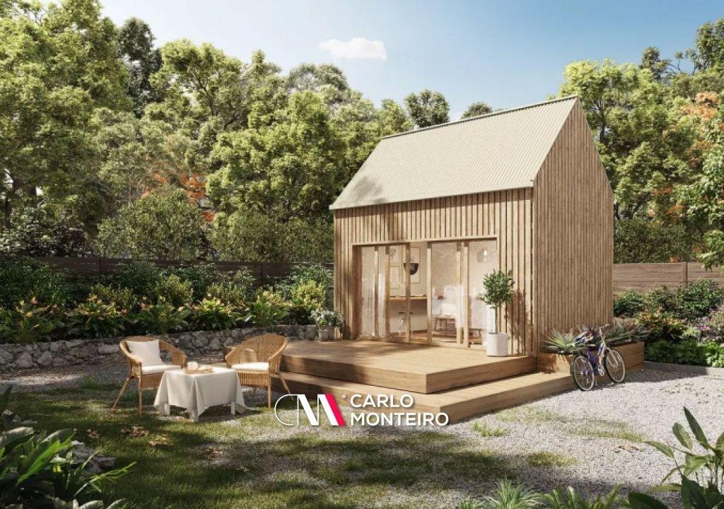 Imagem da notícia: - Esta casa pré-fabricada monta-se numa semana e custa menos de 30.000 euros