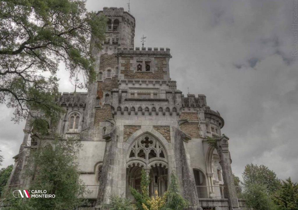 Imagem da notícia: - Braga. Palácio D. Chica considerado dos mais belos 'locais abandonados' do mundo