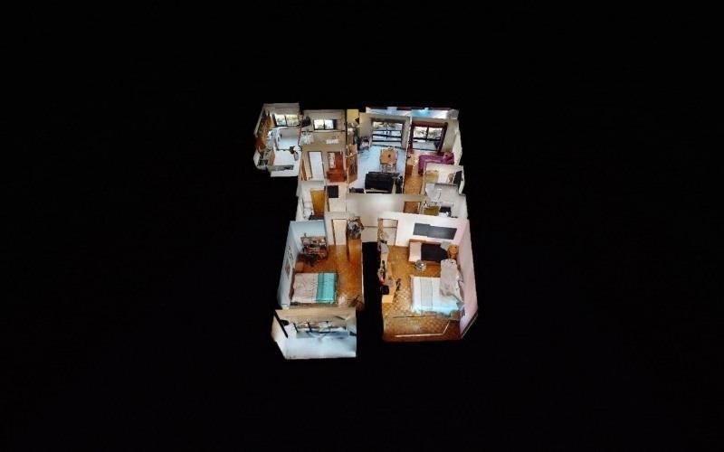VR - 3 bedroom apartment w/166 m2 in São Lázaro, Braga!