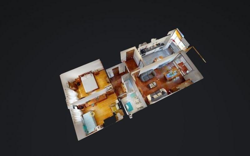 VR - Apartamento T2 Junto ao Centro em Real