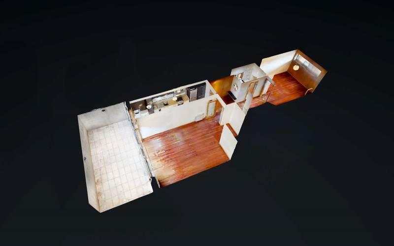 VR - Apartamento T1 c/Terraço!