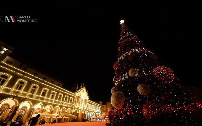 A magia de Natal em Braga...