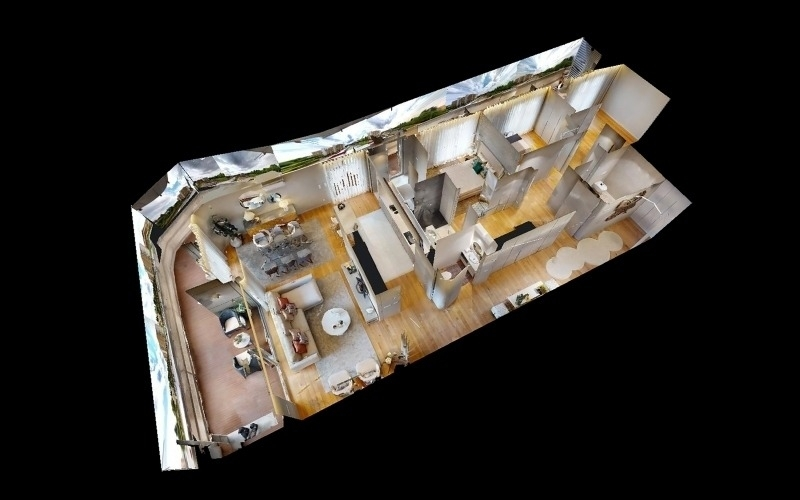 VR - 2º Andar Modelo - Sinçães Residências